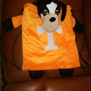 Tennessee vols mascot drawstring backpack